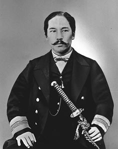 Takeaki Enomoto. After the defeat of the Tokugawa Shogunate in the Boshin War (1869), a part of the former Shogun's navy led by Admiral Enomoto Takeaki fled to the northern island of Ezo (now known as Hokkaidō), together with several thousand soldiers and a handful of French military advisors and their leader, Jules Brunet.  Enomoto made a last effort to petition the Imperial Court to be allowed to develop Hokkaidō and maintain the traditions of the samurai, but his request was denied.