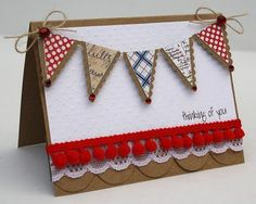 Thinking of You Card by @Danielle Wycough