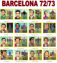 FC Barcelona 1972 1973 finished in La Liga, 2 points away from the championship. Fc Barcelona, Barcelona Futbol Club, The Championship, Lionel Messi, Dream Team, Just Do It, Football Team, 2 In, Nostalgia