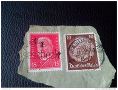 RARE GERMANY DEUTSCHES REICH 1934 5/10PF RECOMMENDET PAR AVIA LETTRE ON PAPER COVER USED SEAL MAGDEBURG - Germany