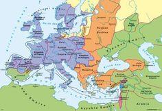 Jerusalem, Holy Land 12th century | ... first crusades in the late 12th century - Diercke International Atlas