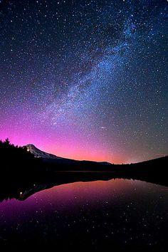 Mount hood Aurora….by gary randall