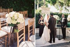 A classic, elegant wedding at The Peninsula Beverly Hills