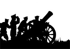Soldiers With Canon Clipart Free Stock Photo HD - Public Domain Pictures