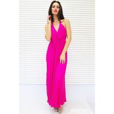 Hot-Pink-Maxi-Dress