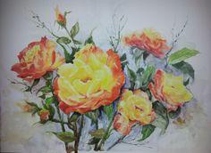 Rosas exóticas.