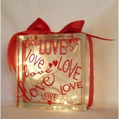 Love theme. You choose the colour of the ribbon and lights!