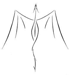 Afbeeldingsresultaat voor minimalist dragon tattoo