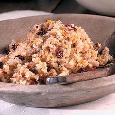 Pecan Rice | MyRecipes.com #myplate #grains