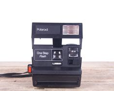 Polaroid Camera / One Step Flash Camera / Old by Vintage05 on Etsy