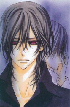 Kaname and Zero.  Vampire Kight