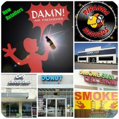 Visit one of these new Damn Air Freshener retailers today!