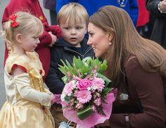 Kate Middleton Bundles Up for Friend's Wedding