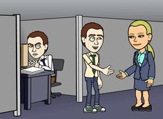 Mitchell becomes Mitchell's boss.
