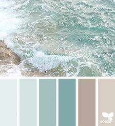 55 ideas for bathroom colors blue sea design seeds Bedroom Paint Colors, Paint Colors For Living Room, Interior Paint Colors, Paint Colors For Home, Bathroom Colors, Beach Paint Colors, Bathroom Ideas, Bathroom Beach, Beach Bedroom Colors