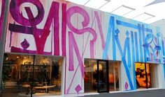 Louis Vuitton's Miami Store Gets Graffitied