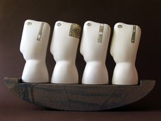 "Stella Zadros, ceramic sculpture- ""Knights in the boat', 2005, 45 x 31h x 7 cm, www.stellaart.com"