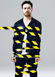 James McAvoy- all tied up? ;)