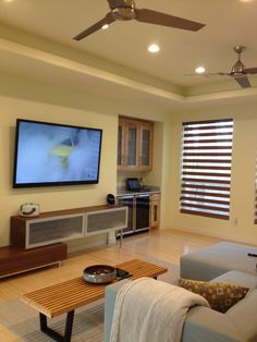 Modern Living Room Interior Design Ideas  - Cozy Modern Home Design in Minimalist Style: Elegant Living Room Interior Design Ideas Equipped With Roma Addition Made From Wooden Material...