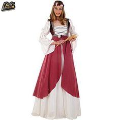 Disfraz de Clarisa Medieval #disfraces #medievales #mujeres $46.70