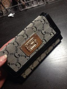 Leather Gucci womens wallet... #Gucci