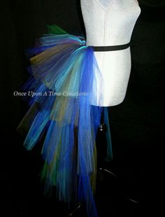 Peacock Costume idea... Add Peacock feathers