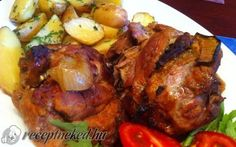 Érdekel a receptje? Kattints a képre! Meat Recipes, Gourmet Recipes, Hungarian Recipes, Hungarian Food, Tandoori Chicken, Favorite Recipes, Meals, Dishes, Cooking