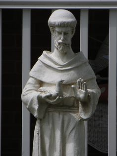 Saint Francis Statue.  Photo by Frederick Meekins