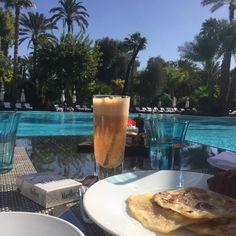 #morning#breakfast#marrakech#relax#sun#lamamounia