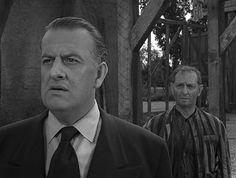"Oscar Beregi, and Joseph Schildkraut in ""Death's Head Revisited"", Twilight Zone episode. This is such a deep episode. Good one"