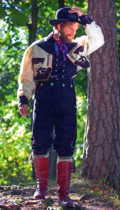 FolkCostume&Embroidery: Gråtrøje costume of East Telemark, Norway Folk Costume, Costumes, Norwegian Clothing, Norway Viking, Lappland, Going Out Of Business, Mens Suits, Scandinavian, Two By Two