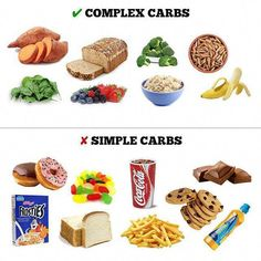 Simple Complex Carbohydrates Foods Source by Carbohydrates Food List, Complex Carbohydrates, Non Carbohydrate Foods, Sources Of Carbohydrates, Complex Carbs List, Low Carb Recipes, Dog Food Recipes, Nutrition Food List, Ideas