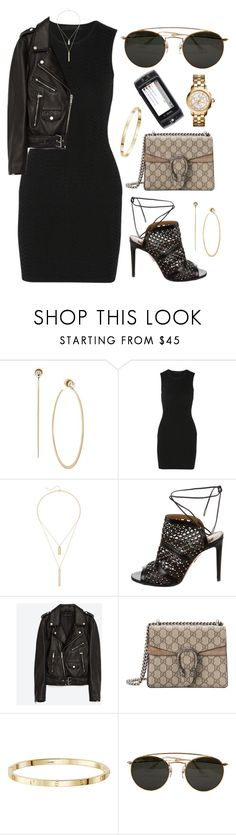 """""""over now"""" by andy993011 ❤ liked on Polyvore featuring Michael Kors, Alexander Wang, Elizabeth and James, Aquazzura, Jakke, Gucci, Ray-Ban and Tory Burch"""