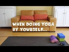What a Home Yoga Practice Actually Looks Like. {Funny Video} | elephant journal