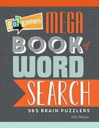 go!games Mega Book of Word Search 365 Brain Puzzlers