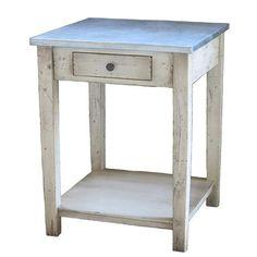 Port Wenn Handcrafted Side Table - ZallZo.com-Unique Home Decor