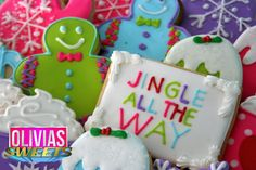 CHRISTMAS COOKIE SET  Olivia's Jingle All by OLIVIASSweetsCookies
