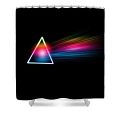 Pink Floyd- Dark Side of the Moon Shower Curtain