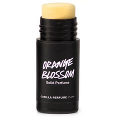 Lush Orange Blossom Solid Perfume - Orange blossom is THE smell I look forward to in the spring. It gets harder to stay indoors when they start blooming! Lush is very close in capturing it!!