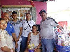 Vicerrectoria de Asuntos Estudiantiles (VAE): Gesto de solidaridad con familia damnificada en Ce...