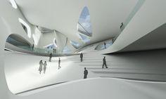 Nuragic & Contemporary Art Museum, Cagliari. italy