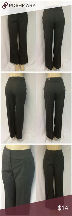 """STYLE & CO STRETCH JAMBE DROITE Pants size 10 NWT,NEW WITH TAG ON BACK LEFT WAISTBAND,  STYLE & CO STRETCH, STYLE :JAMBE DROITE Pants, size 10 See Measurements, long/tall, straight leg, faux tweed look, dark charcoal colors, machine washable, 63% polyester, 33% rayon, 4% spandex, approximate measurements: 17"""" waist laying flat, 33"""" inseam, 3 1/2"""" zipper, 10"""" rize, 2 1/2"""" waistband.  ALL Pants and Jeans are $14 Each everyday! ADD TO A BUNDLE FOR ADDITIONAL 20% DISCOUNT! Style & Co Pants…"""