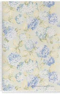 Liberty rose et violet - Papier peint Lutèce … | Pinteres…