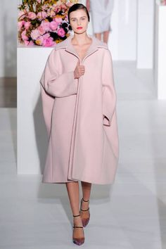 This season outerwear: an oversize silhouette -by Jil Sander