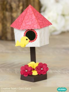 Birdhouse Tutorial with Corri