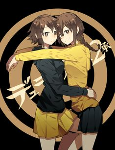 The Orihara sisters. ~Durarara!!