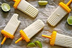 Coconut and Lime Paletas | Mixing Bowl Kids