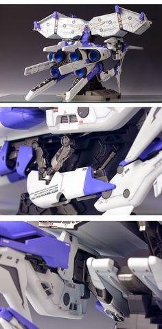"Custom Build: HGUC 1/144 Dendrobium ""Orchis"" - Gundam Kits Collection News and Reviews"