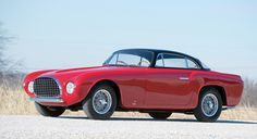 1953 Ferrari 212 Europa Coupe by Vignale (1 of 6 212 bodied by Vignale) at Amelia Island Concours d'Elegance