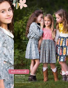 #ClippedOnIssuu from Nightfall by Maureen Cracknell; outfits made by Because of Brenna
